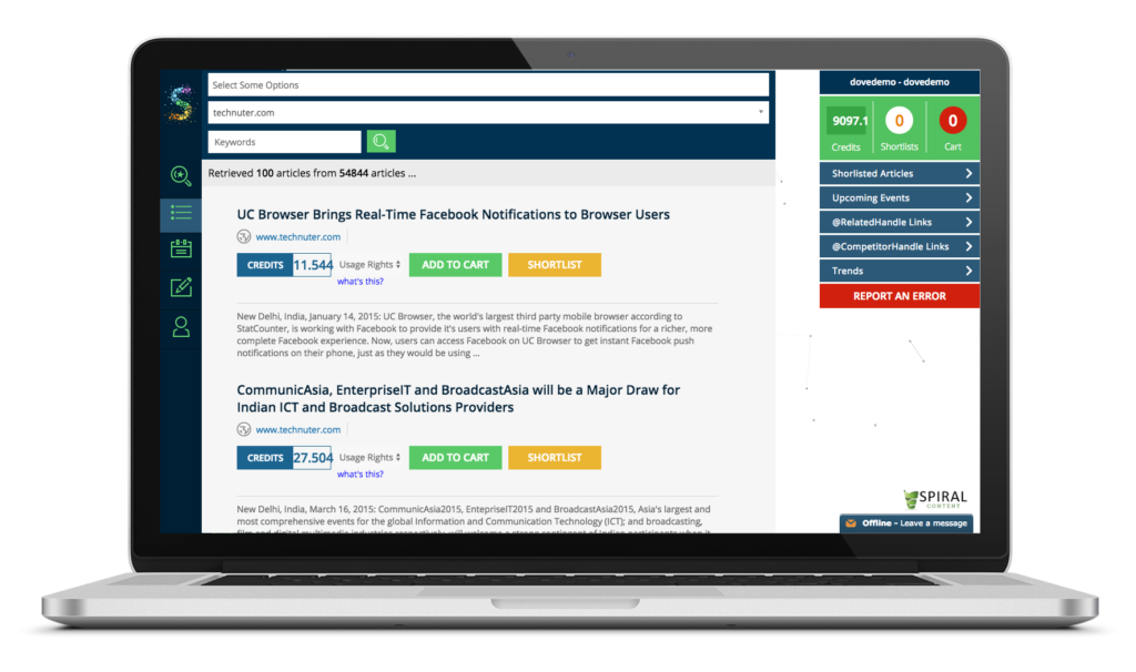 Scatter Syndication tool
