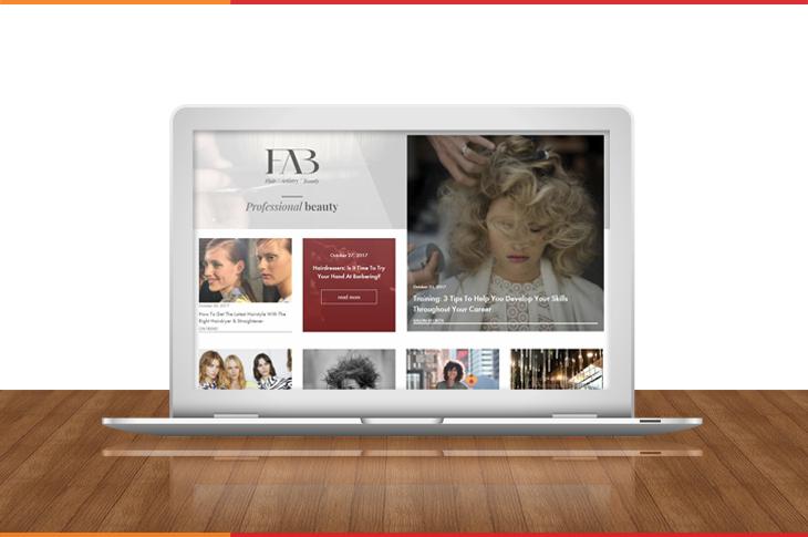 FAB Beauty Content Marketing Banner