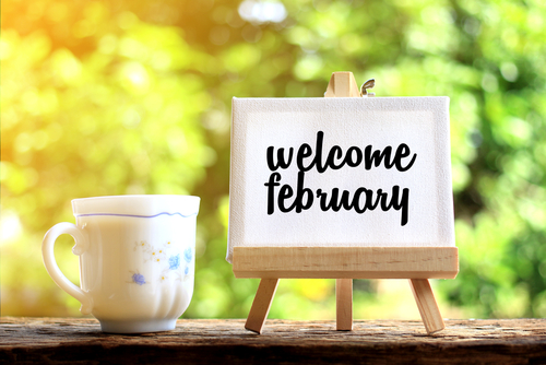 february content marketing ideas Scatter