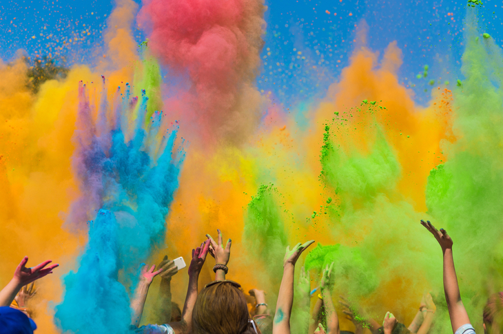 Content Marketing Ideas March Holi