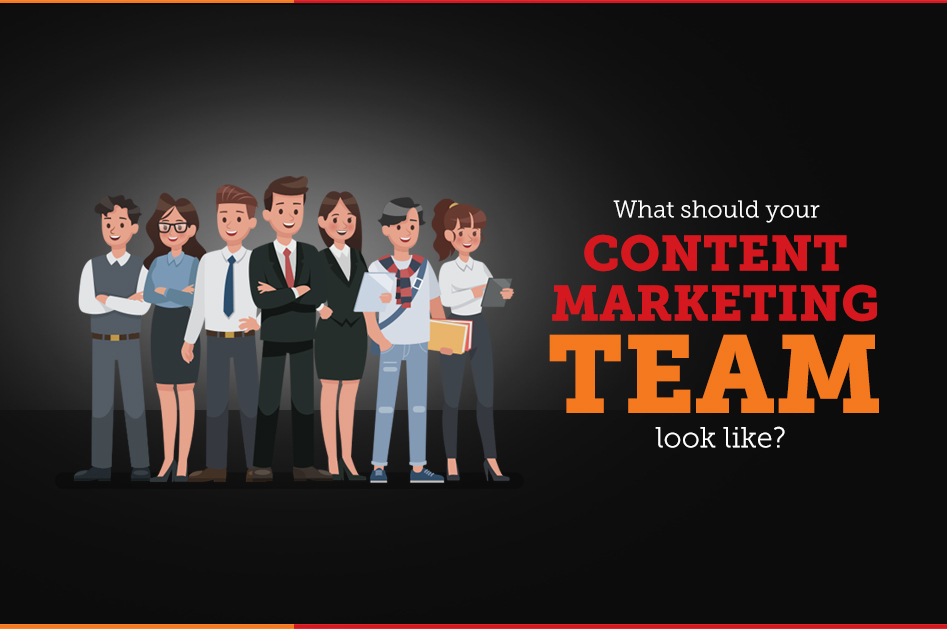 An image showing the content marketing team - Content Marketing Team Scatter