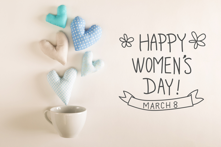 Content Marketing Ideas March International Women's Day Scatter