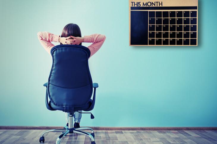 Content Marketing Calendar Scatter