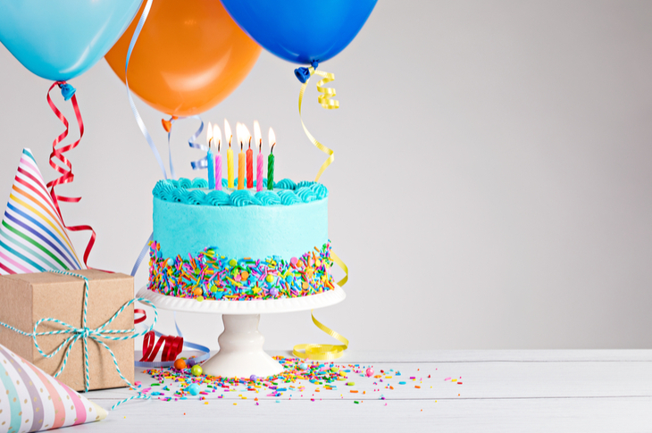 Content Marketing Ideas March Birthday Scatter