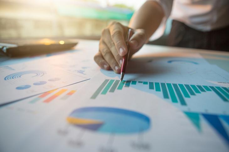 Content marketing statistics - Scatter
