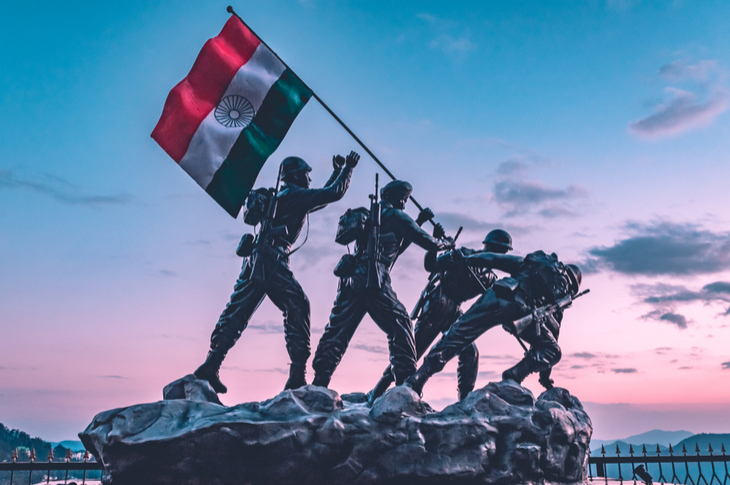 Indian Army featured in January content calendar