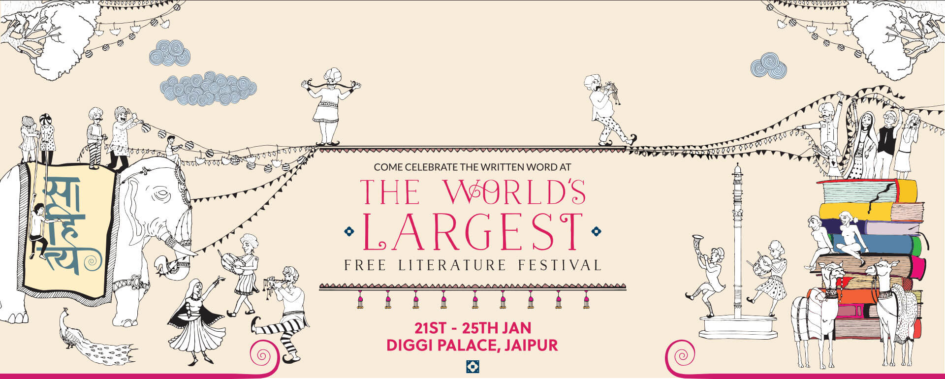 Jaipur Literary Festival featured in January content calendar
