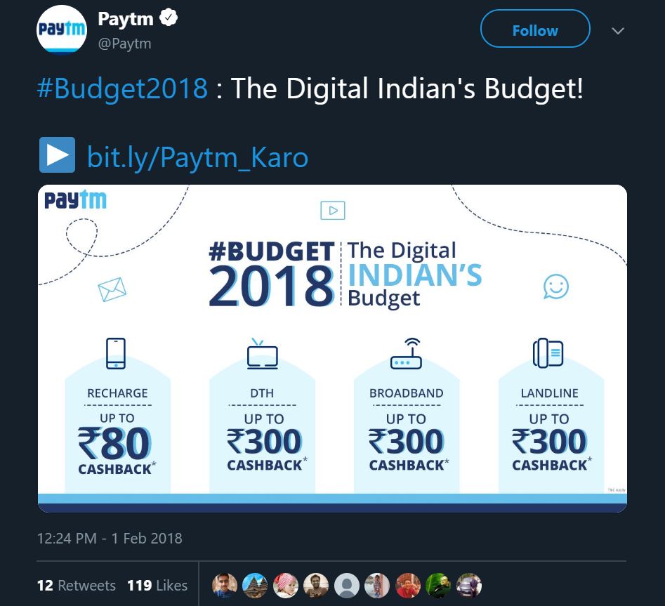 Paytm featured in February content calendar