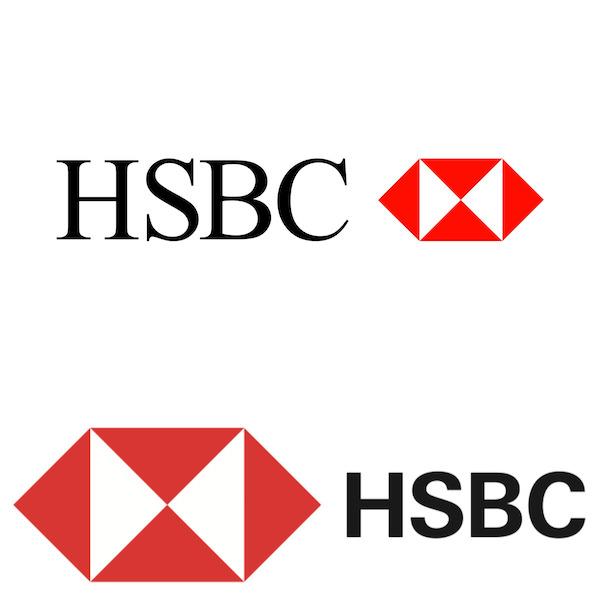 HSBC changed brand logo