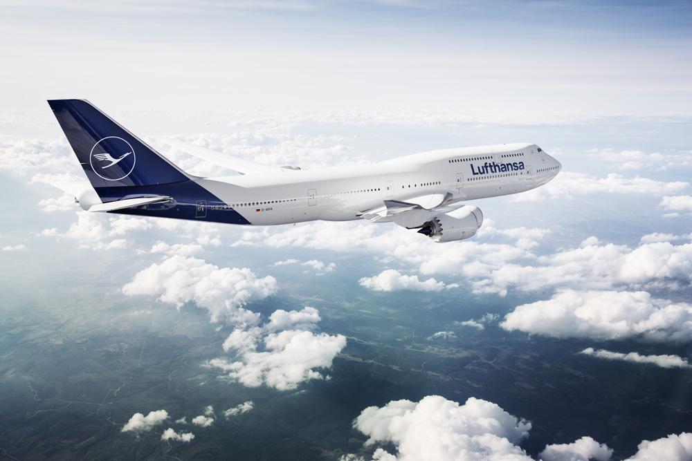 Lufthansa changed brand design
