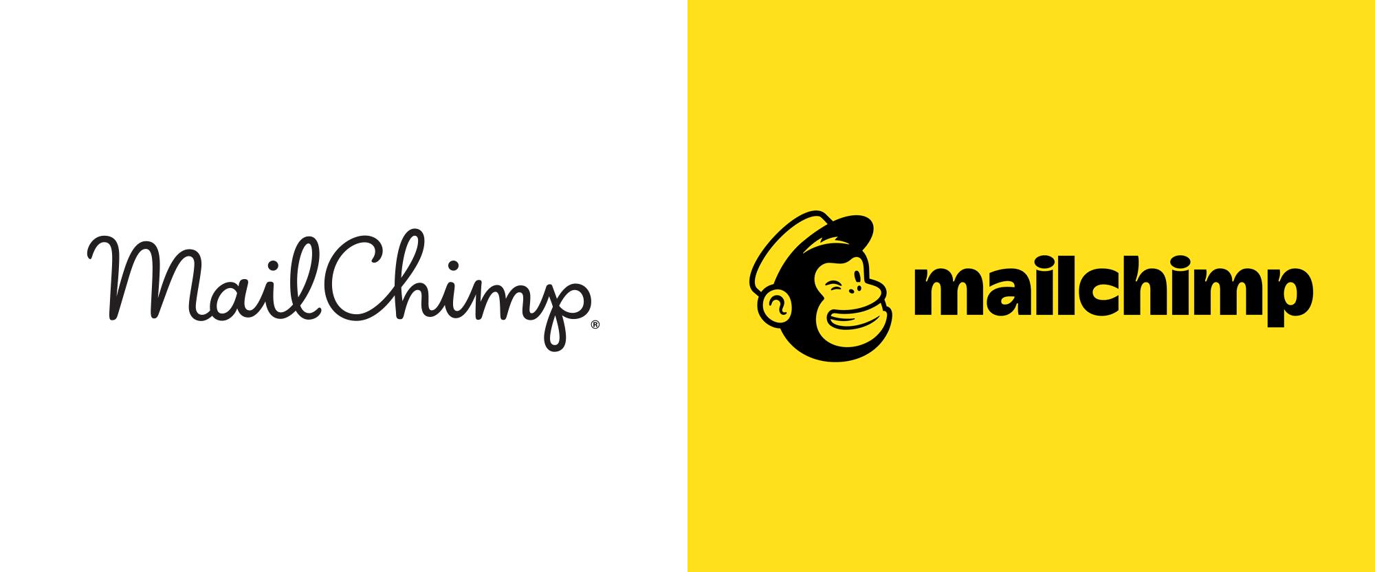 Mailchimp brand logo redesigned