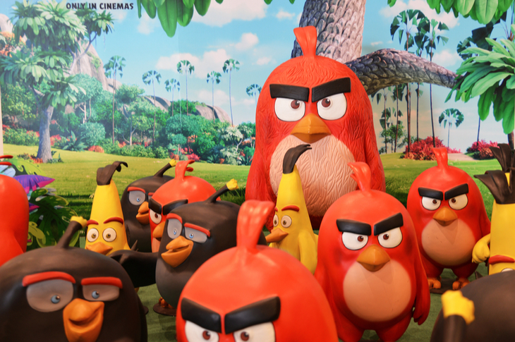 Angry Birds Content Marketing Ideas