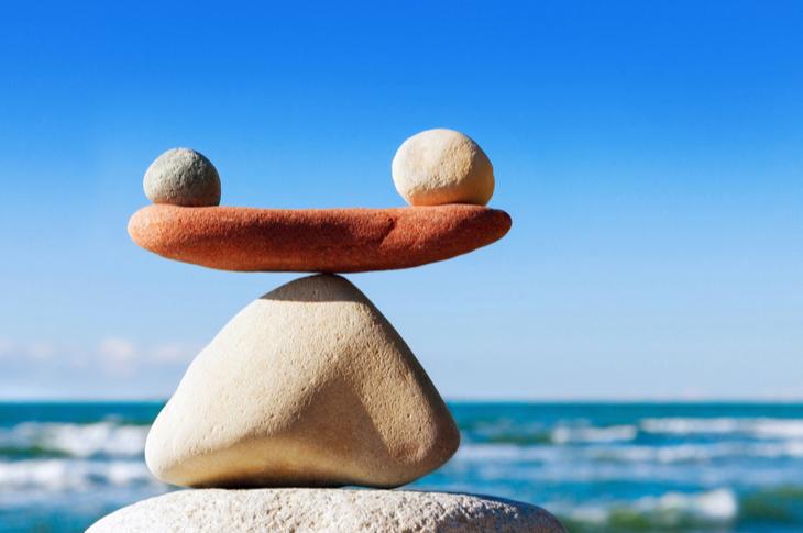 Keep a balance