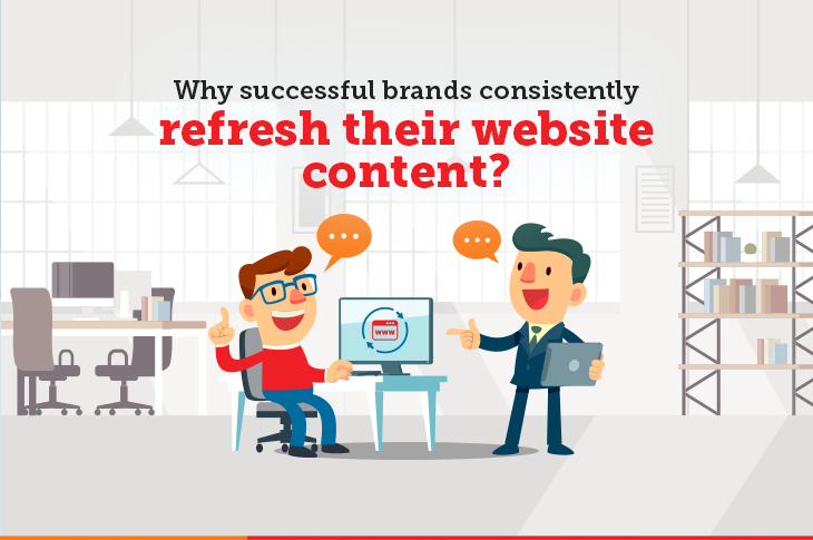 Why Successful Brands Refresh Their Website Content