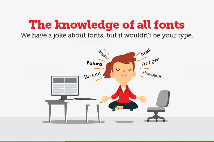 Knowledge of fonts - Cover Image