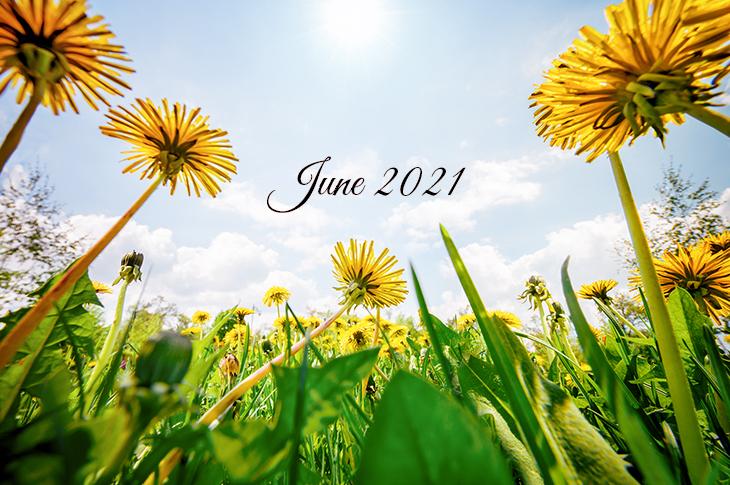 June 2021, Content Calendar