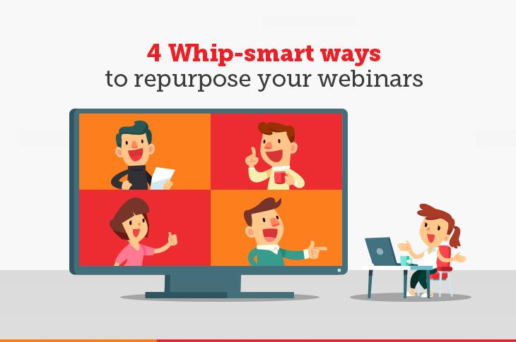 Smart ways to repurpose webinar content