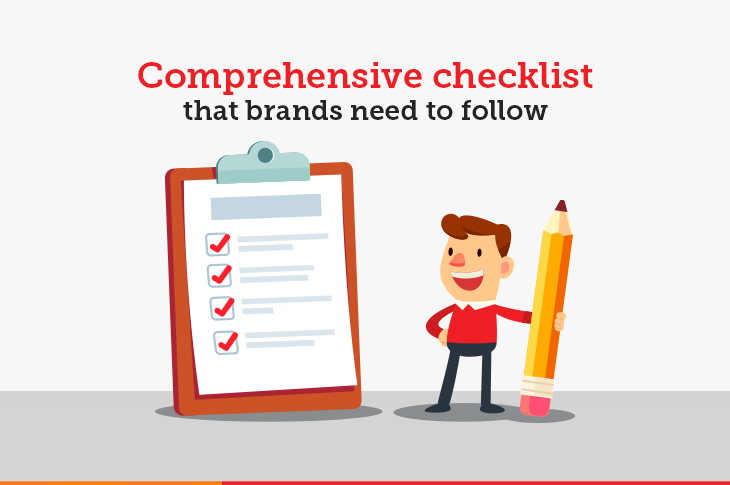 checklist for brand visibility