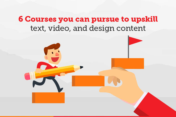 Courses to upskill for content marketing
