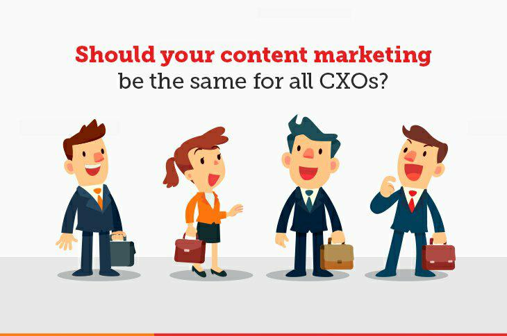 Content marketing for CXOs